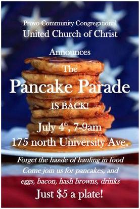 Pancake Parade 2018 2